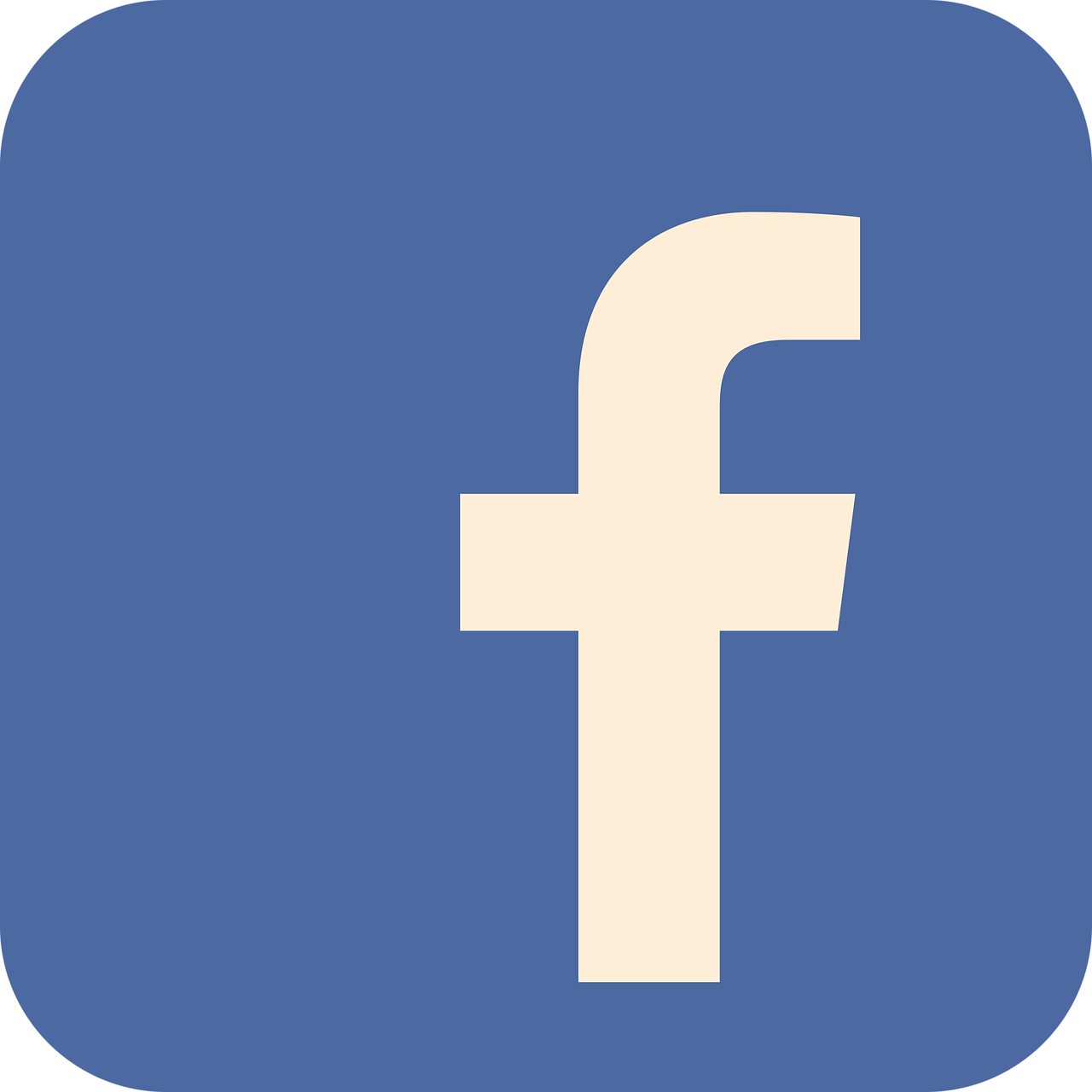 facebook, flat, flat icon